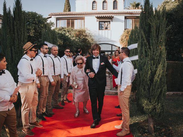 La boda de Ismael y Cristina en Rivera (Rincon De La Victoria), Málaga 21