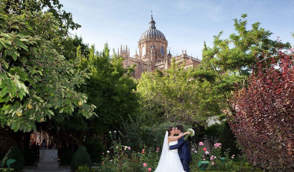La boda de Jesús y Paula en Salamanca, Salamanca