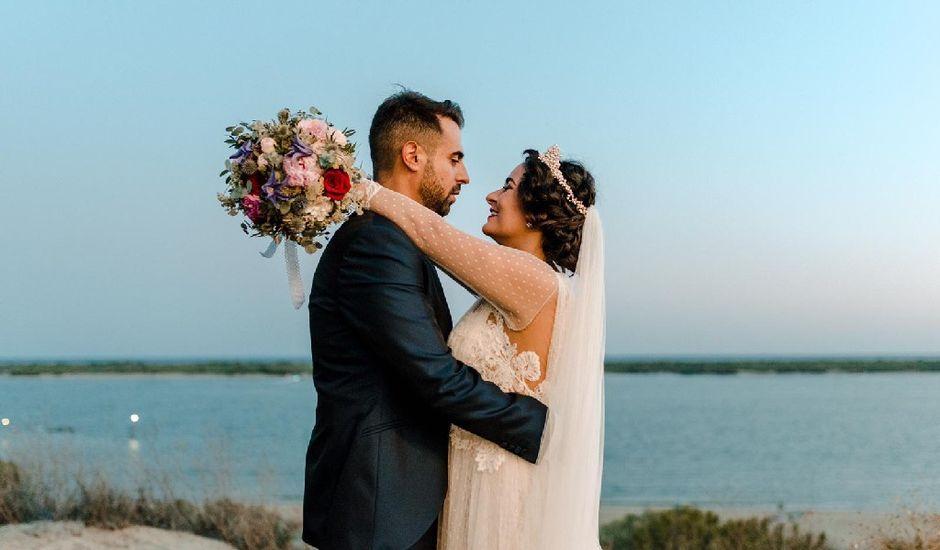 La boda de Juan y Amparo  en El Rompido, Huelva