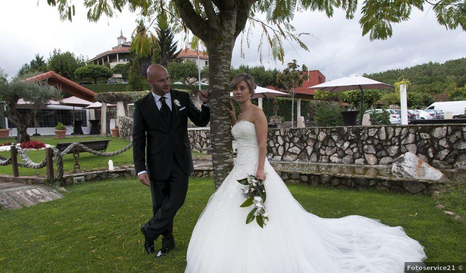 La boda de Roberto y Angeles en Vilarnaz, Orense