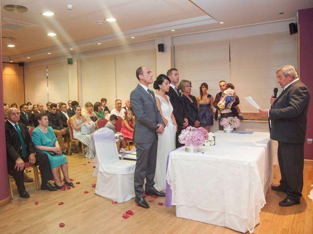 La boda de Julio y Estefania en Benavente, Zamora 21