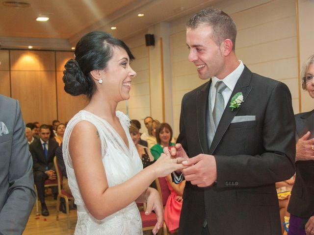 La boda de Julio y Estefania en Benavente, Zamora 23