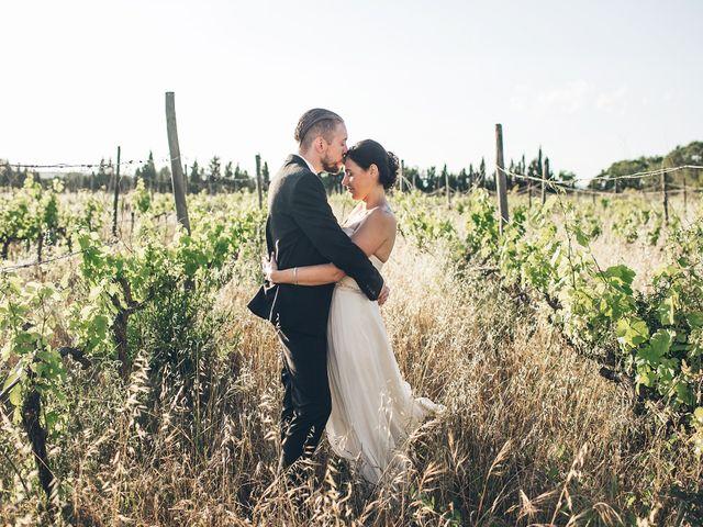 La boda de Spencer y Andrea