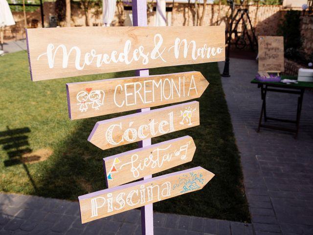 La boda de Marco y Mercedes en Villar De La Encina, Cuenca 21