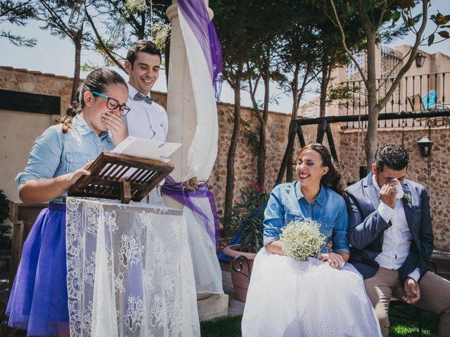 La boda de Marco y Mercedes en Villar De La Encina, Cuenca 25