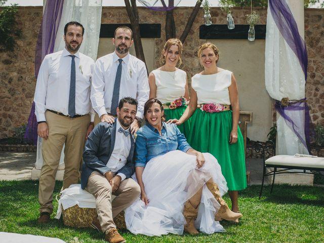 La boda de Marco y Mercedes en Villar De La Encina, Cuenca 29