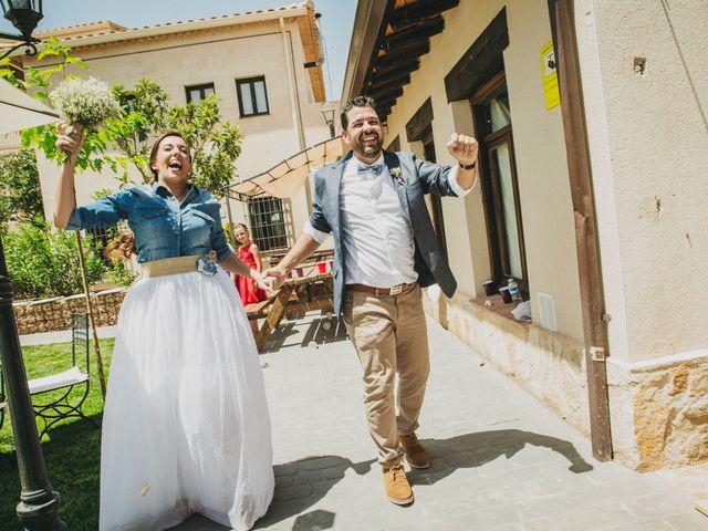 La boda de Marco y Mercedes en Villar De La Encina, Cuenca 31