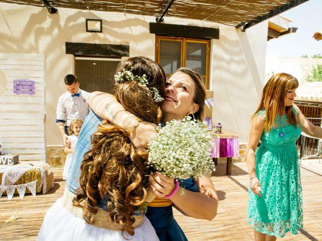 La boda de Marco y Mercedes en Villar De La Encina, Cuenca 33