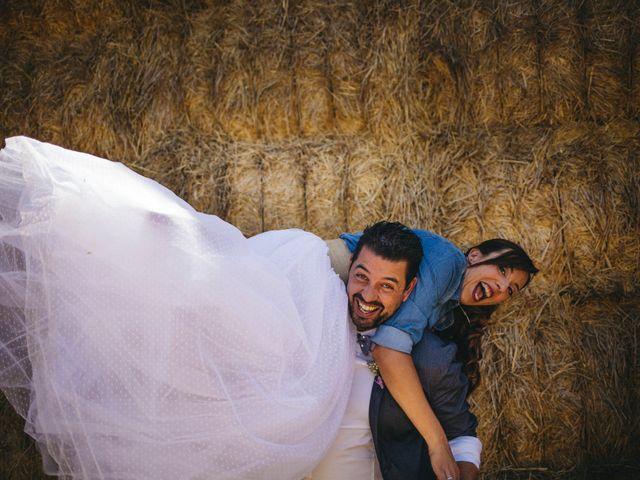 La boda de Marco y Mercedes en Villar De La Encina, Cuenca 45