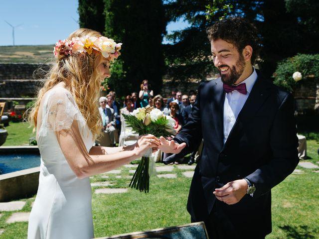 La boda de Luis y Bea en Huermeces, Burgos 44
