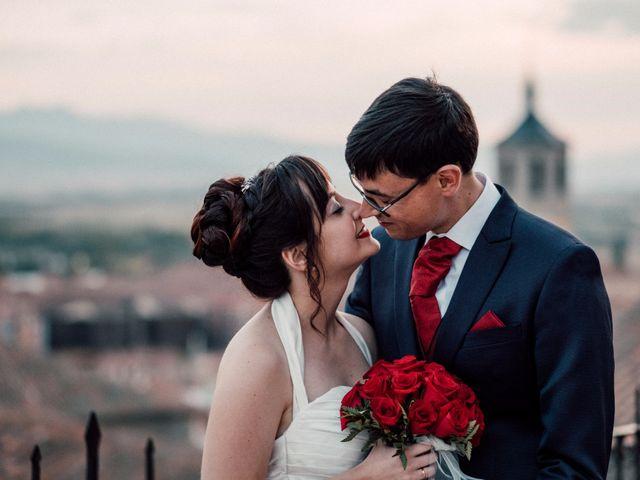 La boda de Beatriz y Antonio en Ávila, Ávila 67