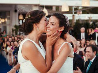 La boda de Inma y Belén