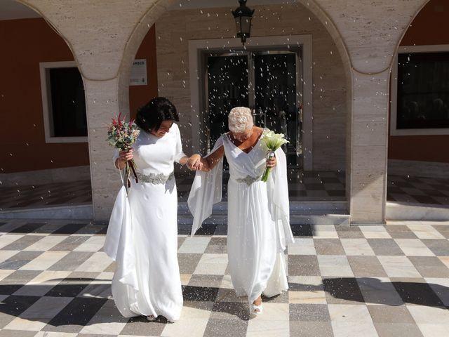 La boda de Rosa y Rosa M.
