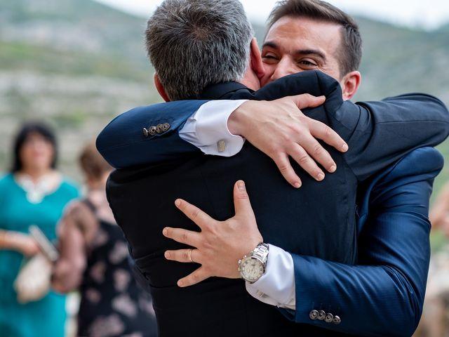 La boda de alberto y Vanesa en Xert/chert, Castellón 41