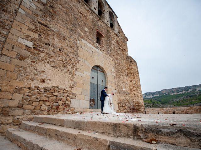 La boda de alberto y Vanesa en Xert/chert, Castellón 1