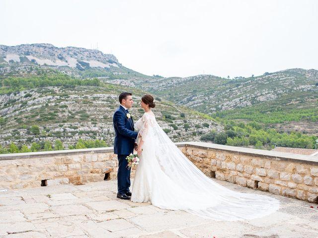 La boda de alberto y Vanesa en Xert/chert, Castellón 47