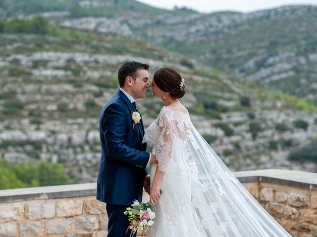 La boda de alberto y Vanesa en Xert/chert, Castellón 48