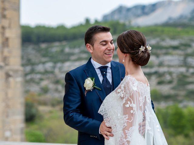 La boda de alberto y Vanesa en Xert/chert, Castellón 49