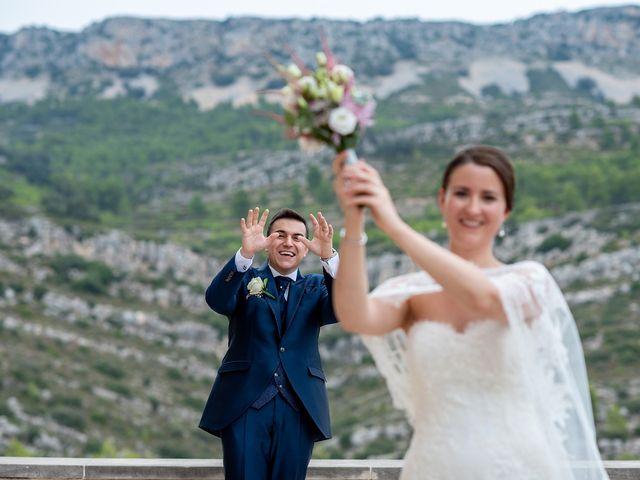La boda de alberto y Vanesa en Xert/chert, Castellón 51