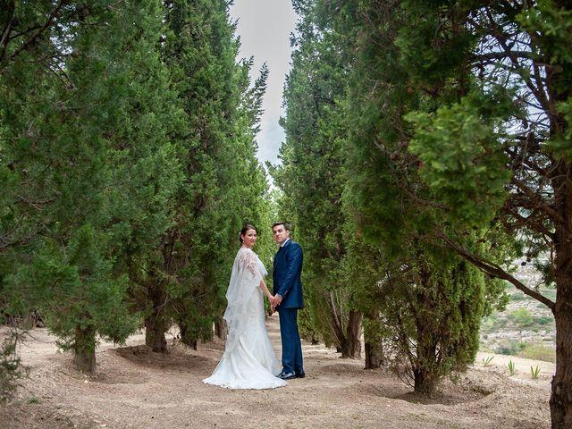 La boda de alberto y Vanesa en Xert/chert, Castellón 64
