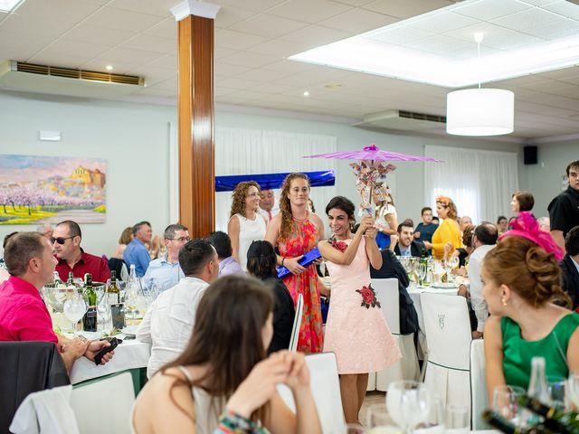 La boda de alberto y Vanesa en Xert/chert, Castellón 77