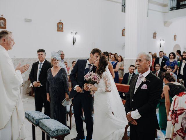 La boda de Alejandro y Isabel en La Roca De La Sierra, Badajoz 15