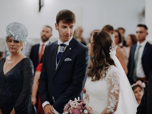La boda de Alejandro y Isabel en La Roca De La Sierra, Badajoz 16