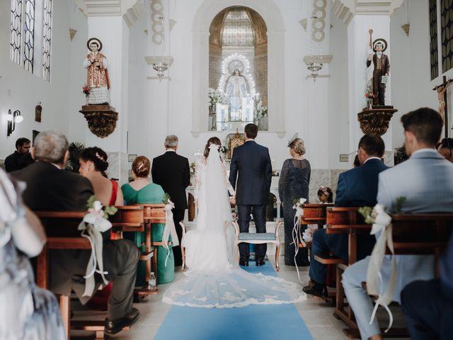 La boda de Alejandro y Isabel en La Roca De La Sierra, Badajoz 19