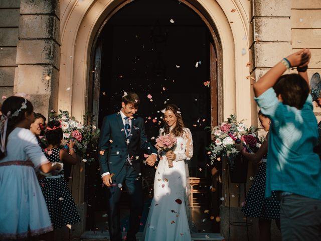 La boda de Alejandro y Isabel en La Roca De La Sierra, Badajoz 21