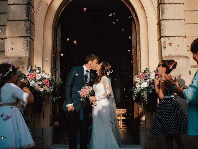 La boda de Alejandro y Isabel en La Roca De La Sierra, Badajoz 22