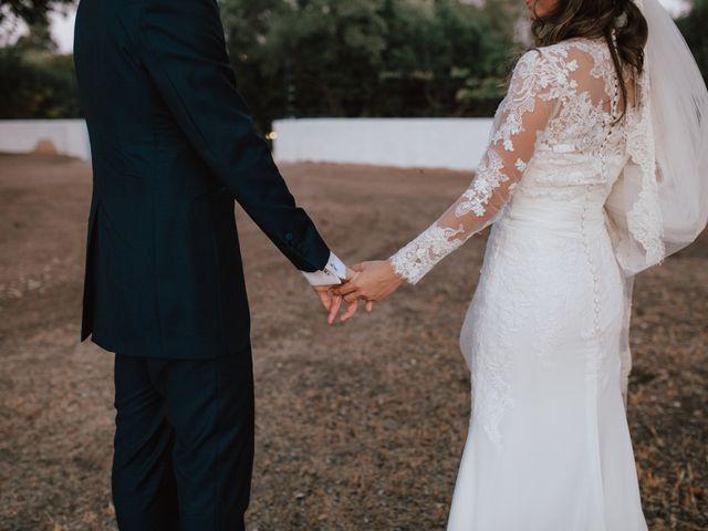 La boda de Alejandro y Isabel en La Roca De La Sierra, Badajoz 30