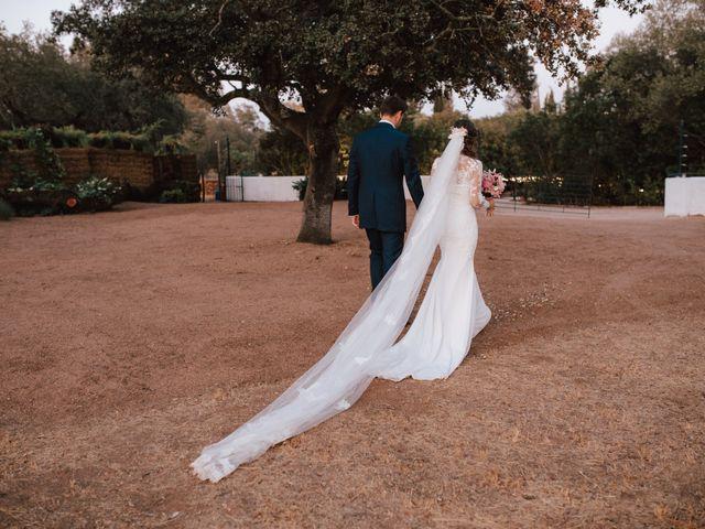 La boda de Alejandro y Isabel en La Roca De La Sierra, Badajoz 32