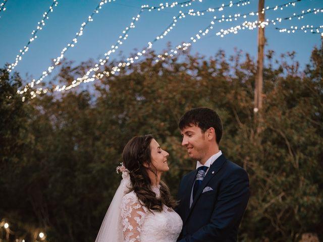 La boda de Alejandro y Isabel en La Roca De La Sierra, Badajoz 36