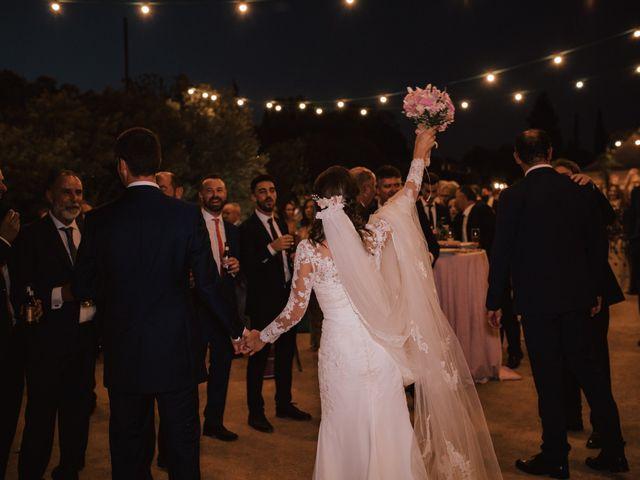 La boda de Alejandro y Isabel en La Roca De La Sierra, Badajoz 38