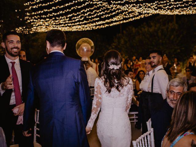 La boda de Alejandro y Isabel en La Roca De La Sierra, Badajoz 41