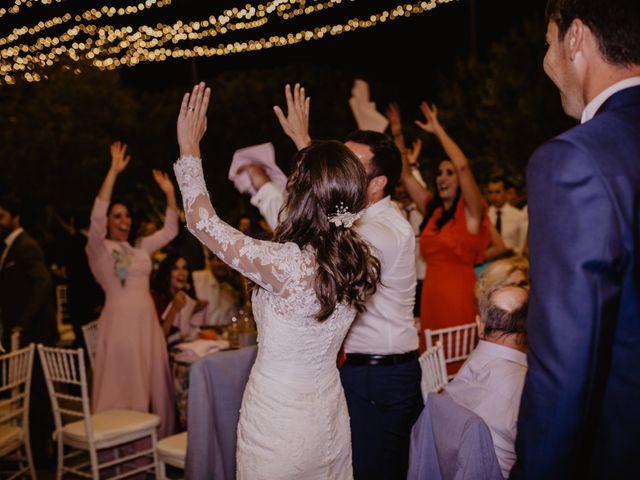 La boda de Alejandro y Isabel en La Roca De La Sierra, Badajoz 42