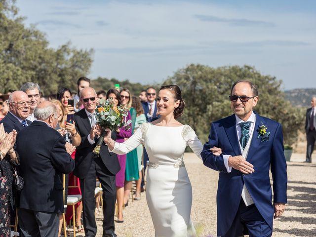 La boda de Sara y Marcos en Torrelodones, Madrid 22