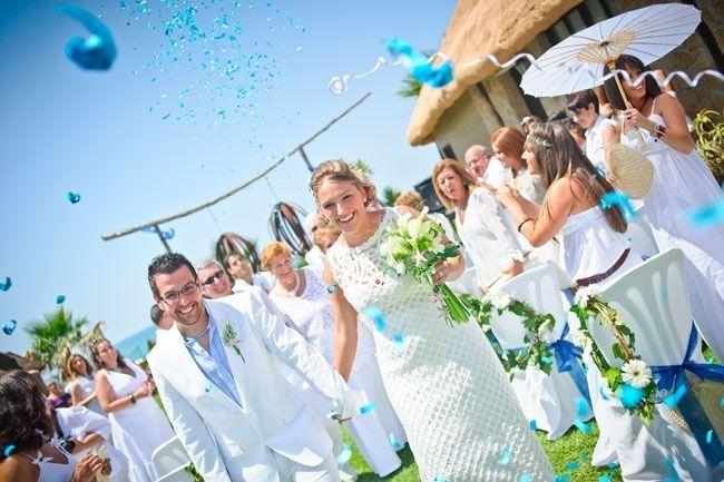 La boda de Emilio y Marta en Los Caños De Meca, Cádiz