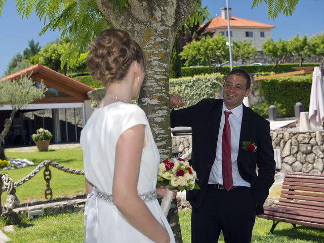 La boda de Roberto y Ana en Vilarnaz, Orense 5
