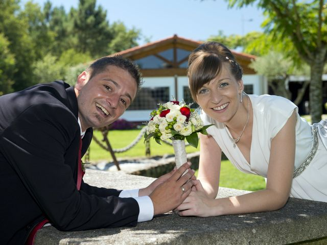 La boda de Roberto y Ana en Vilarnaz, Orense 6