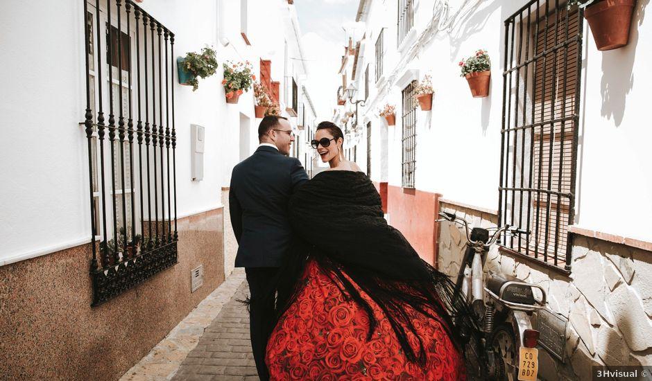 La boda de Juanjo y Julia en Pizarra, Málaga