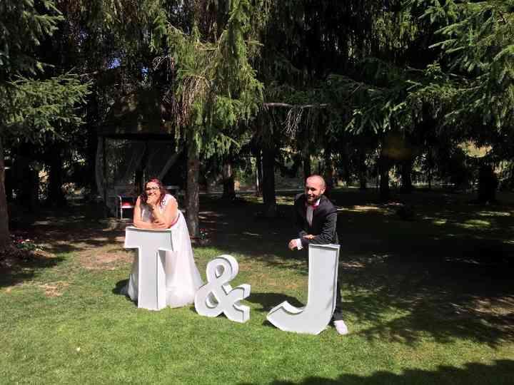 La boda de Txell y Jaume