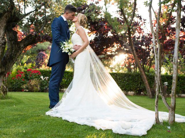 La boda de Oscar y Ana en Aldea Del Fresno, Madrid 14