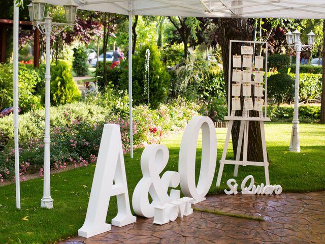 La boda de Oscar y Ana en Aldea Del Fresno, Madrid 17