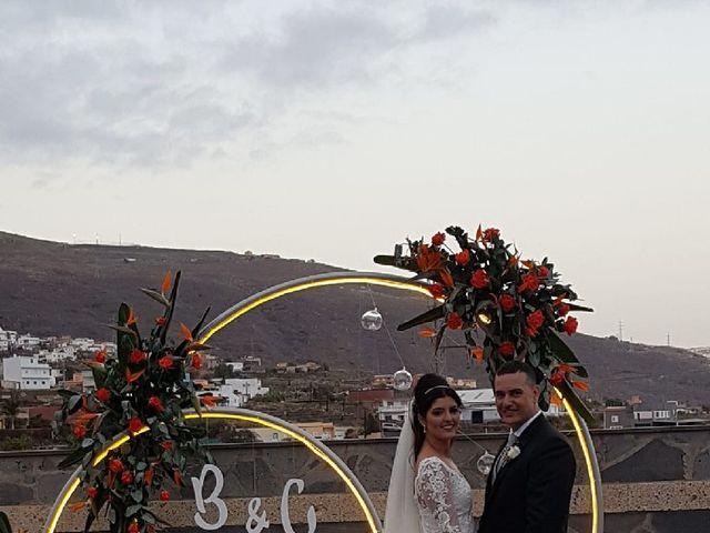 La boda de Alberto y Cathaysa en Candelaria, Santa Cruz de Tenerife 1