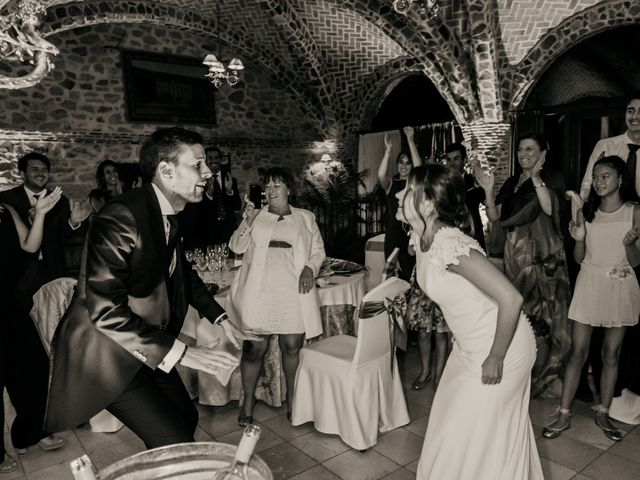 La boda de Silvia y Pablo en Mangiron, Madrid 62