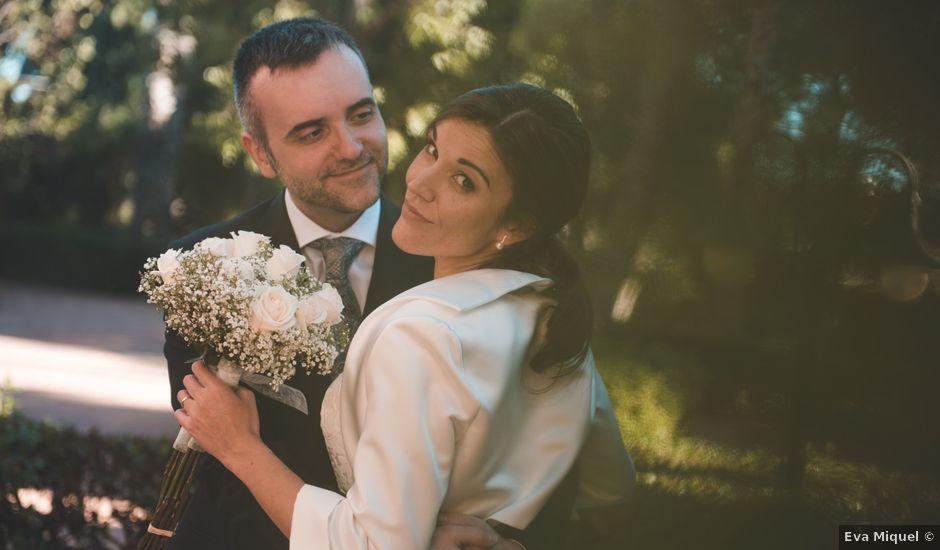 La boda de Adrián y Teresa en Benagéber, Valencia