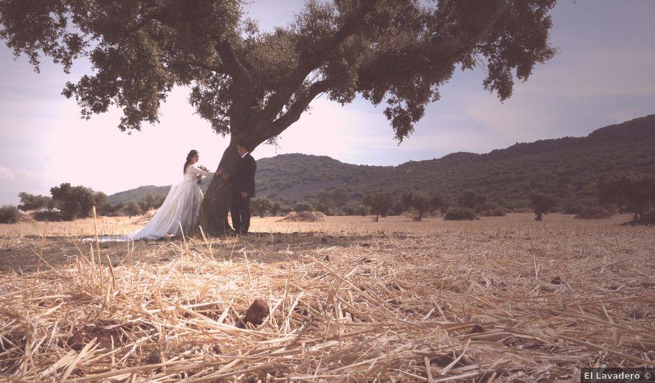 La boda de Jesús y Sara en Zarza De Alange, Badajoz