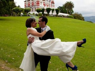 La boda de Inés y Ángel