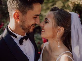 La boda de Sorina y Thibaut